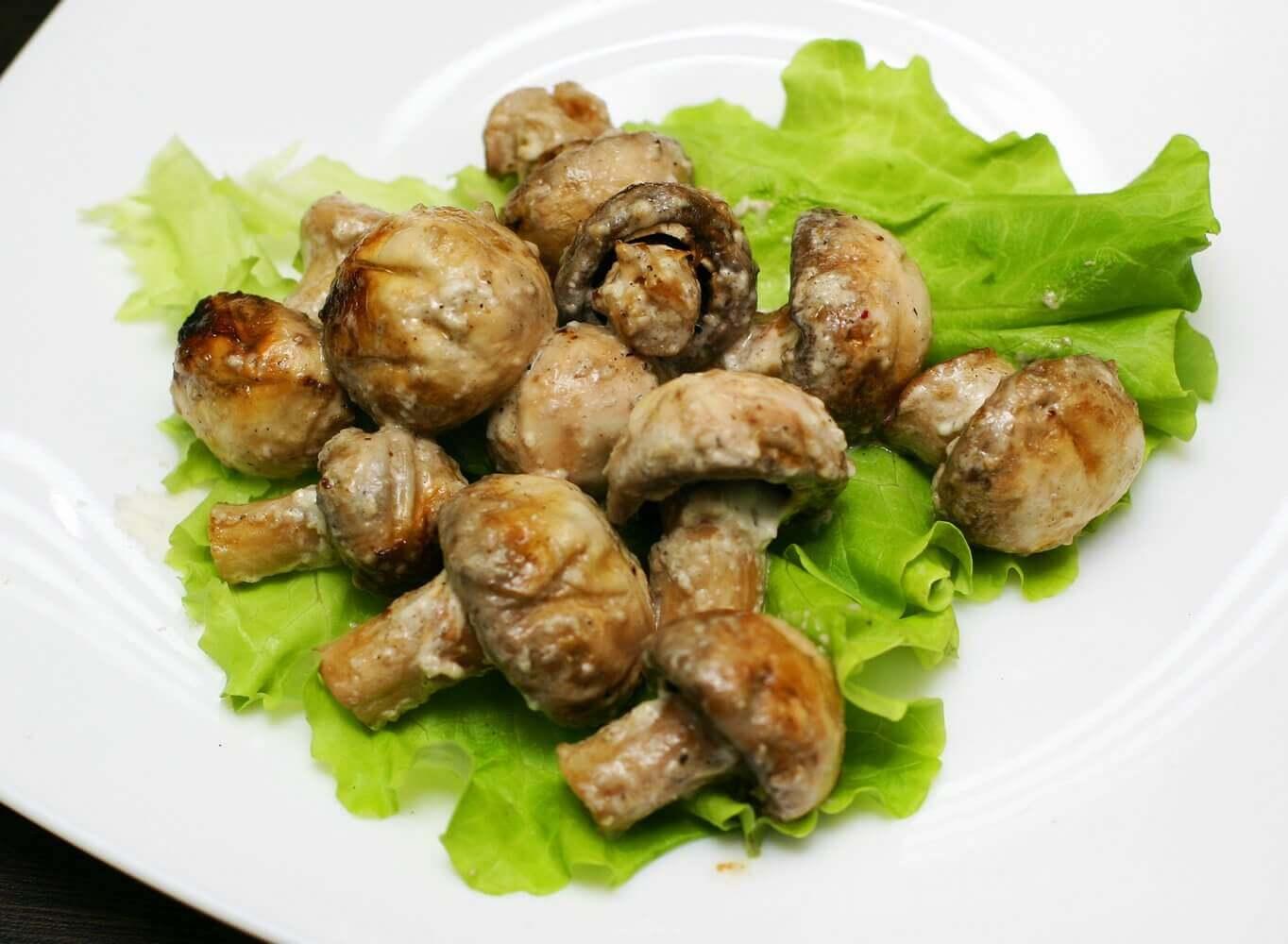 Шашлык из белых грибов рецепт